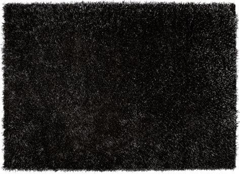 schwarzer teppich esprit hochflor teppich cool esp 9001 09 schwarz