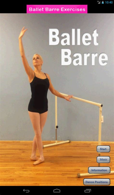 ballet barre exercises android apps on play