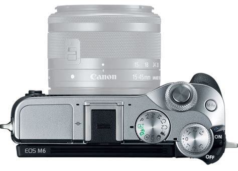 mirrorless with viewfinder canon unveils the eos m6 mirrorless and evf dc2
