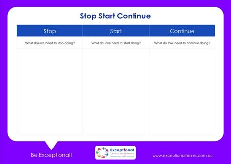 start stop continue template start stop continue template image collections template