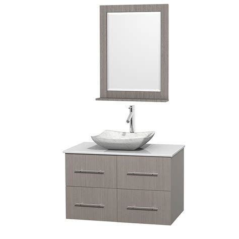 centra 24 in single vanity in white with solid surfacetop wyndham collection wcvw00936sgowsgs3m24 centra 36 inch