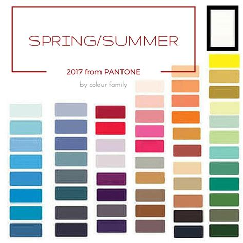 spring summer 2017 color trends pantone 7 best pantones s colors images on pinterest colors pantone 2016 and pantone 2017 colour