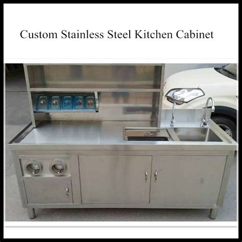 stainless steel kitchen sink cabinet cheap home use waterproof environmental steel commercial