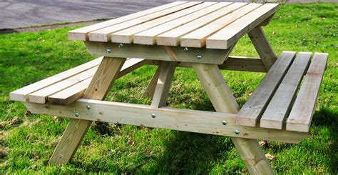 Picnic tables the wooden workshop oakford devon