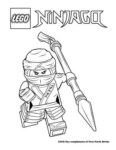 lego ninjago nya coloring pages 118 best free lego colouring pages images on pinterest