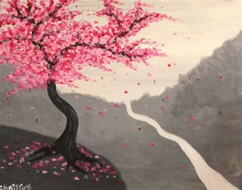 paint nite japanese cherry blossoms 18 best paint nite faves images on paint