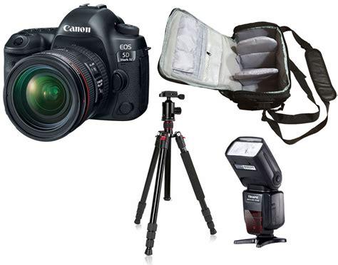 Tripod Flash canon eos 5d iv 24 70 bag flash tripod kit