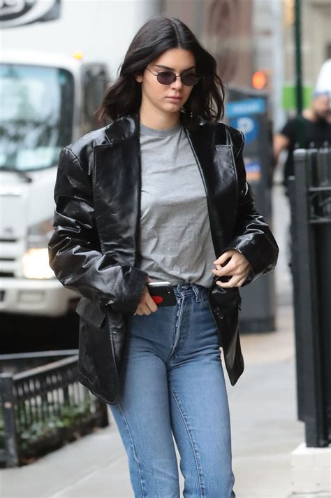 kendall jenner heading to adidas photoshoot in new york 10 24 2017 hawtcelebs