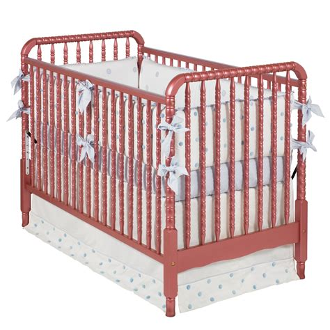 Lind Crib by Lind Crib Cranberry Mist