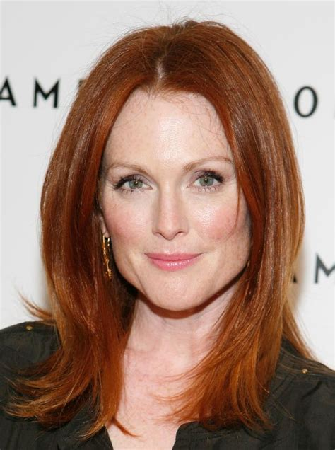 julianne moore natural hair color makeup basics red heads lattes lipstick