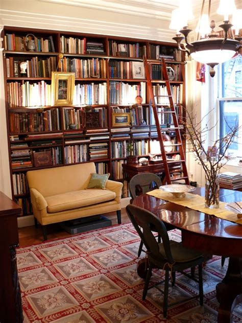 Dining Room Library Study 25 Beautiful Study Room Ideas