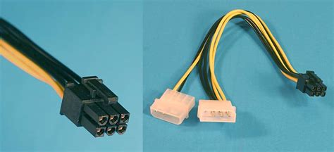 6 Pin Auxiliary Power Supply Connectors by All About The Various Pc Power Supply Cables And Connectors