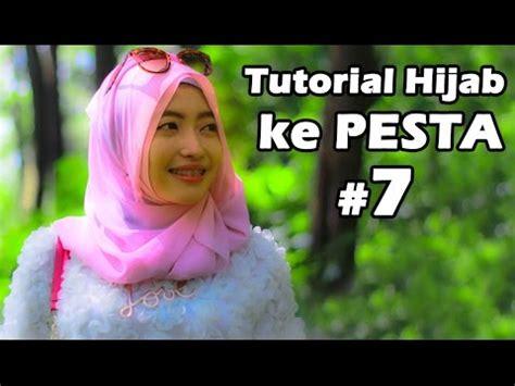 tutorial hijab pesta youtube tutorial hijab untuk pesta 7 youtube