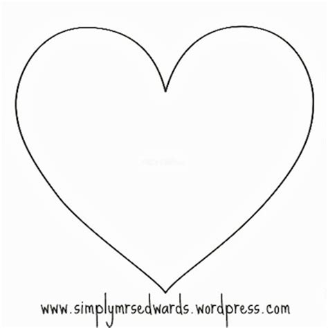 templates on pinterest heart template star template and
