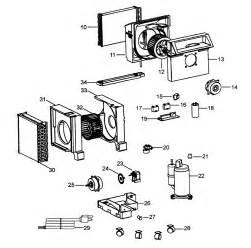 compressor diagram parts list for model pacc120 delonghi parts room air conditioner parts