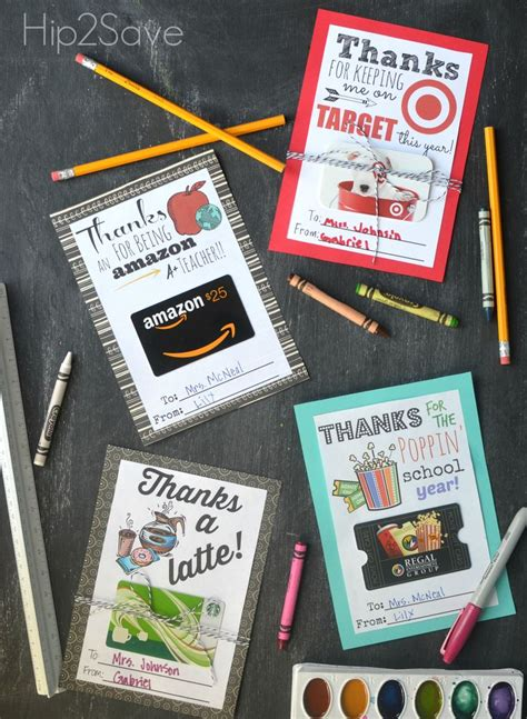 Gift Card Holder Ideas For Teachers - best 25 thank you teacher gifts ideas on pinterest teacher thank you gifts teacher