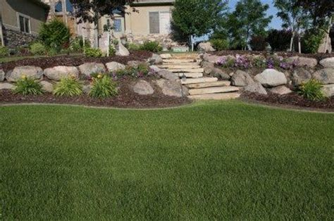 how to level a hilly backyard tiered yard landscaping this backyard had level changes