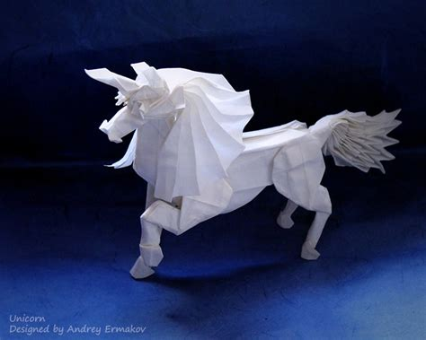 Origami Unicorn - 20 creative origami designs