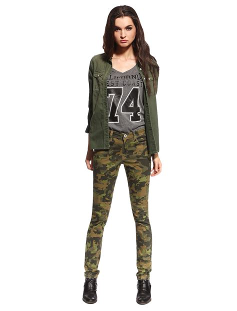 Hotpants Hotpant Army womens camo ware colored camouflage