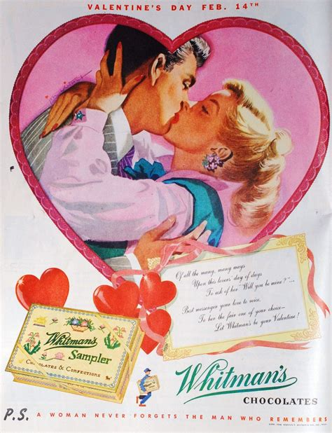 retro s day whitman s sler ads