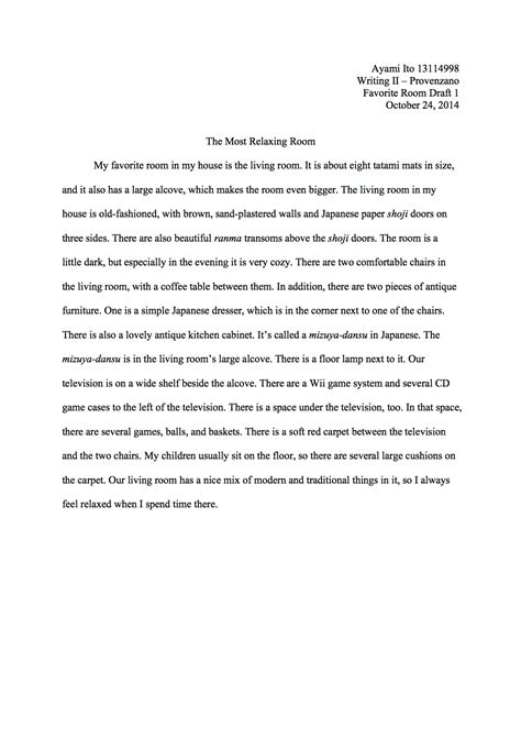 Our Classroom Essay by Kgu Weds 1 Writing 1 2 Working Together To Improve Our Writing In