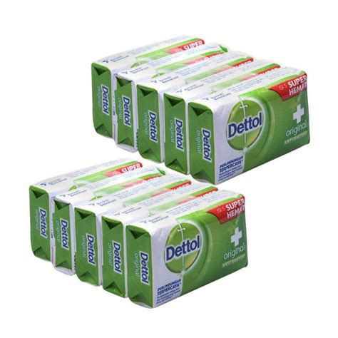 Dettol Sabun Mandi Batang 105g jual dettol original anti bakteri bar soap sabun mandi