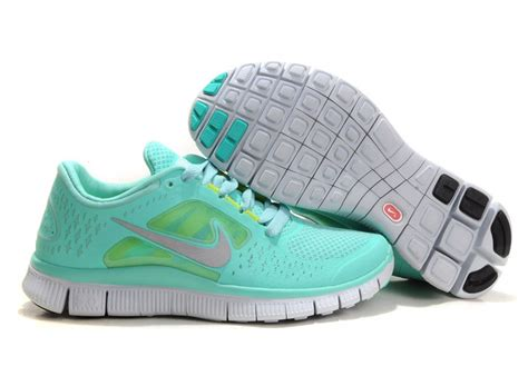 mint green nike sneakers nike free run 3 womens shoe mint green