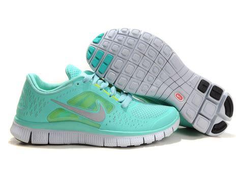 mint green nike running shoes nike free run 3 womens shoe mint green