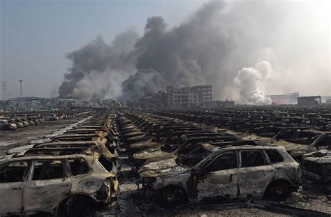 Film Of China Explosion | massive tianjin explosion claims at least 50 lives news