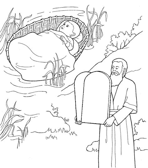 printable coloring pages for ten commandments free the ten commandments coloring pages