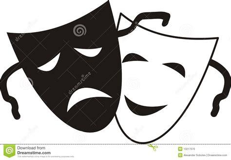 imagenes en blanco y negro de teatro m 225 scaras de teatro foto de archivo imagen 13217070