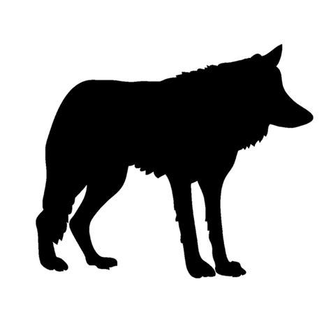 Sticker Tatto Bibir No 1 free illustration wolf silhouette animal free image