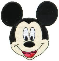 Sewing Patterns Home Decor by Applique Disney Mickey Mouse Head Applique