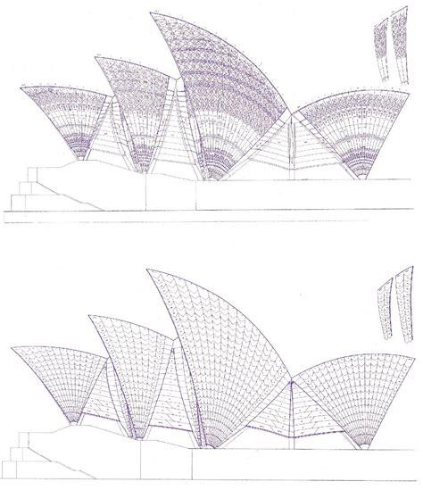 sydney opera house plan des plans de l op 233 ra de sydney