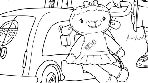 Doc Mcstuffins Coloring Pages Disney Junior by Stuffy The Doc Mcstuffins Coloring Page