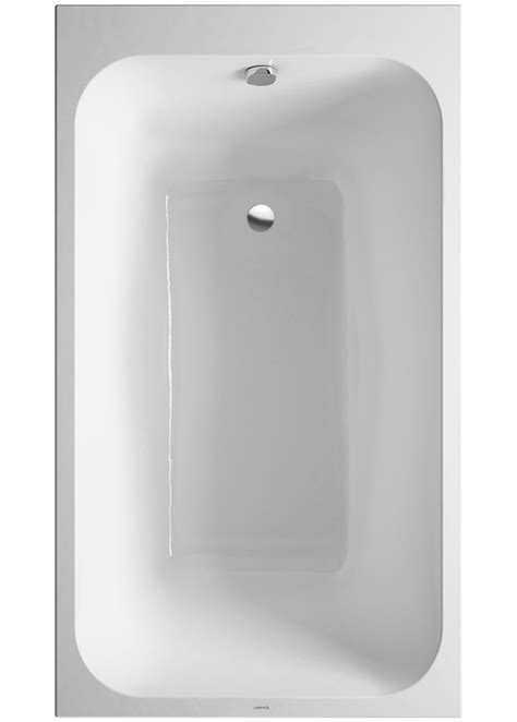 bathtub 1400mm duravit durastyle 1400 x 800mm rectangular bath with