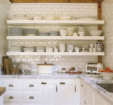 open shelving kitchen cabinets styling open shelves in the kitchen the estate of things