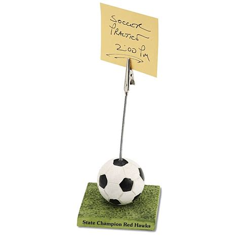 Sports Desk Accessories by Office Awards Desk Accessories Sports Clip Soccer