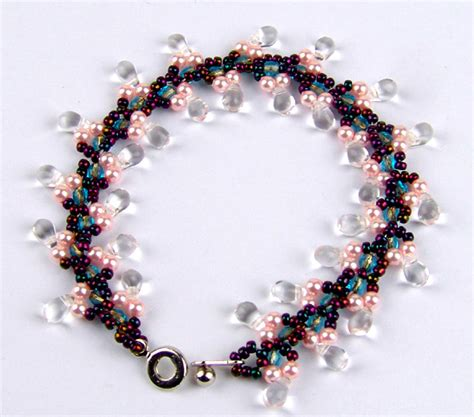 beaded bracelet patterns free pattern for bracelet autumnal magic