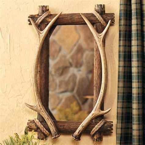 Cheap Vanity For Sale Antler Amp Wood Mirror