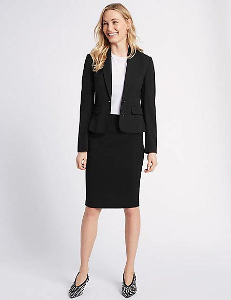 Blazer Set Skirt blazer pencil skirt suit set m s