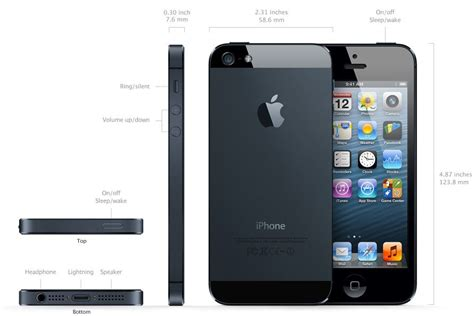 apple iphone 5 specifications and features and price plus information