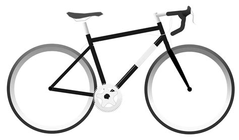 Road Bicycle Outline by Road Bike Clip Clipart Best Clipart Best