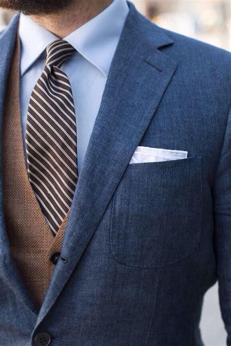 light navy blue suit men s navy blazer brown waistcoat light blue dress shirt