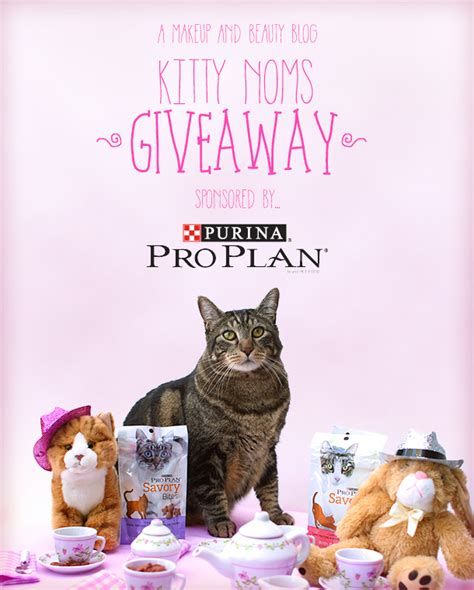 Proplan Kitten 7kg Fresh Pack Pro Plan it s giveaway time win noms from purina pro plan sundays with tabs the cat makeup and