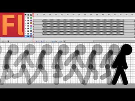 flash tutorial walking man stick figure run animation tutorial line tool flash cs5