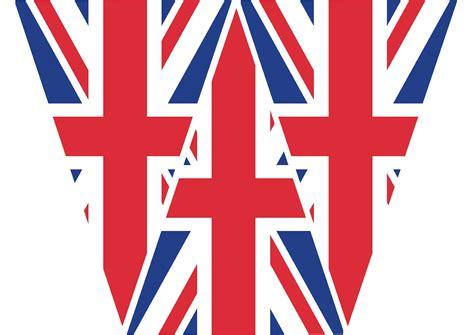printable england flag bunting jeni rodger designer and illustrator make and print