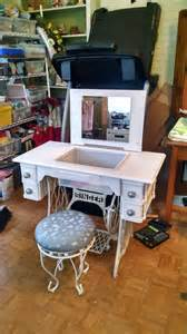 best 25 singer sewing tables ideas on
