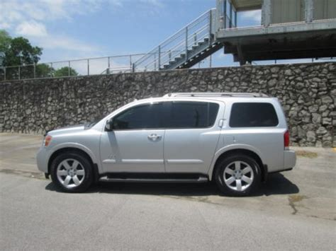 nissan armada for sale in alabama sell used 2008 nissan armada le rear entertainment in