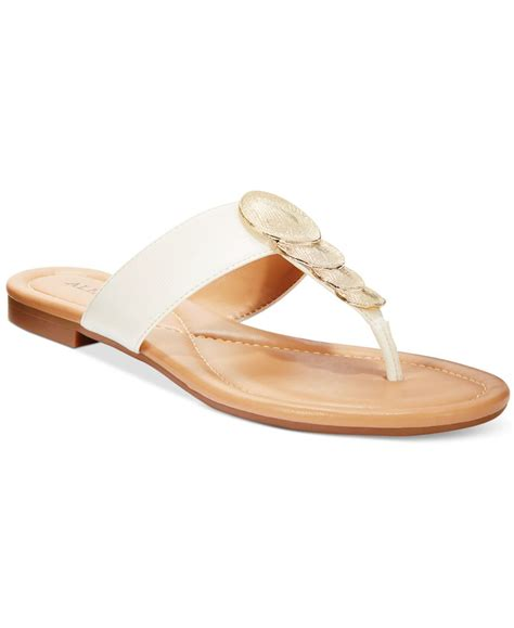 sandals at macy s alfani harlquin flat sandals only at macy s in